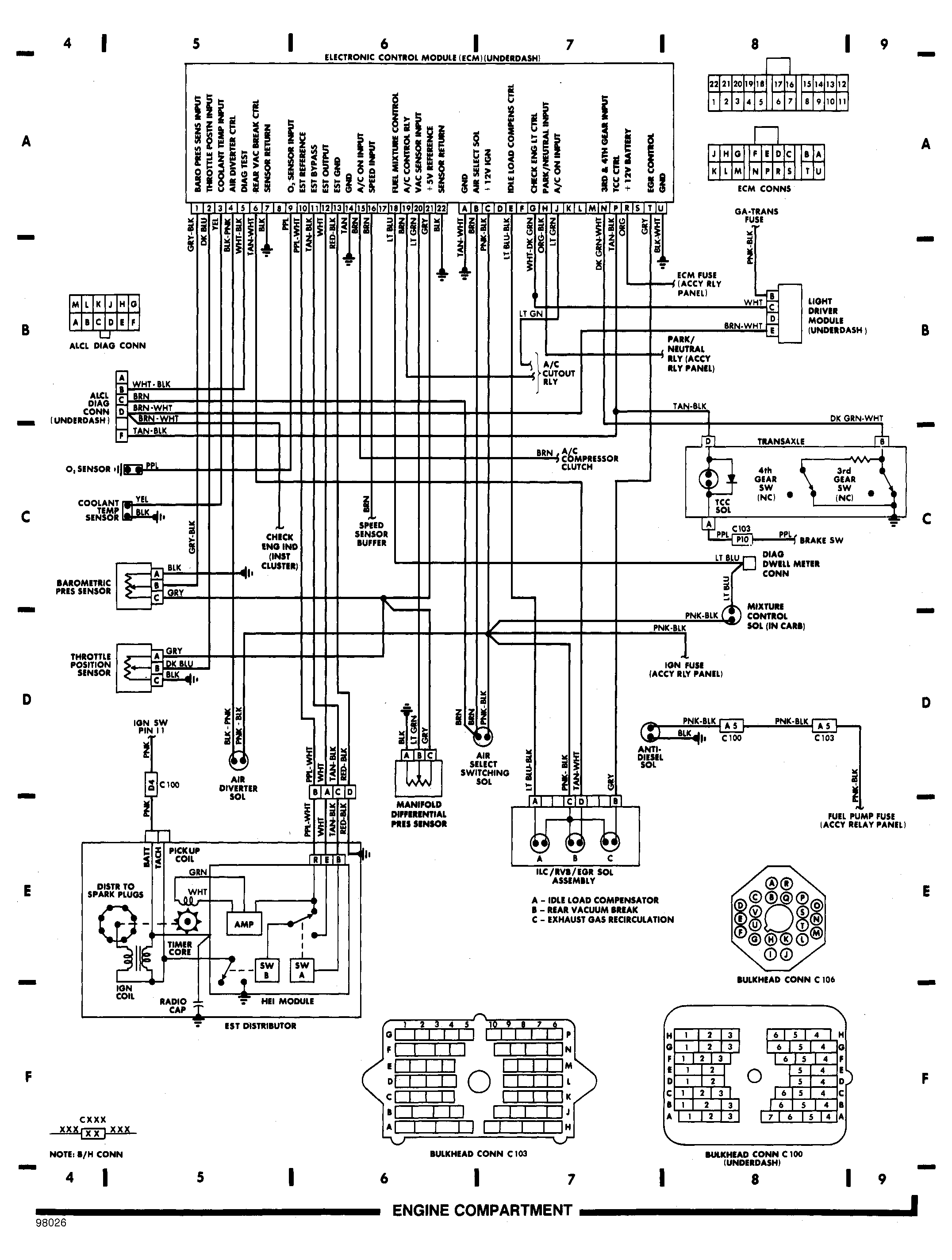 wiring diagrams 2012 Cadillac Wiring Schematics engine compartment 2