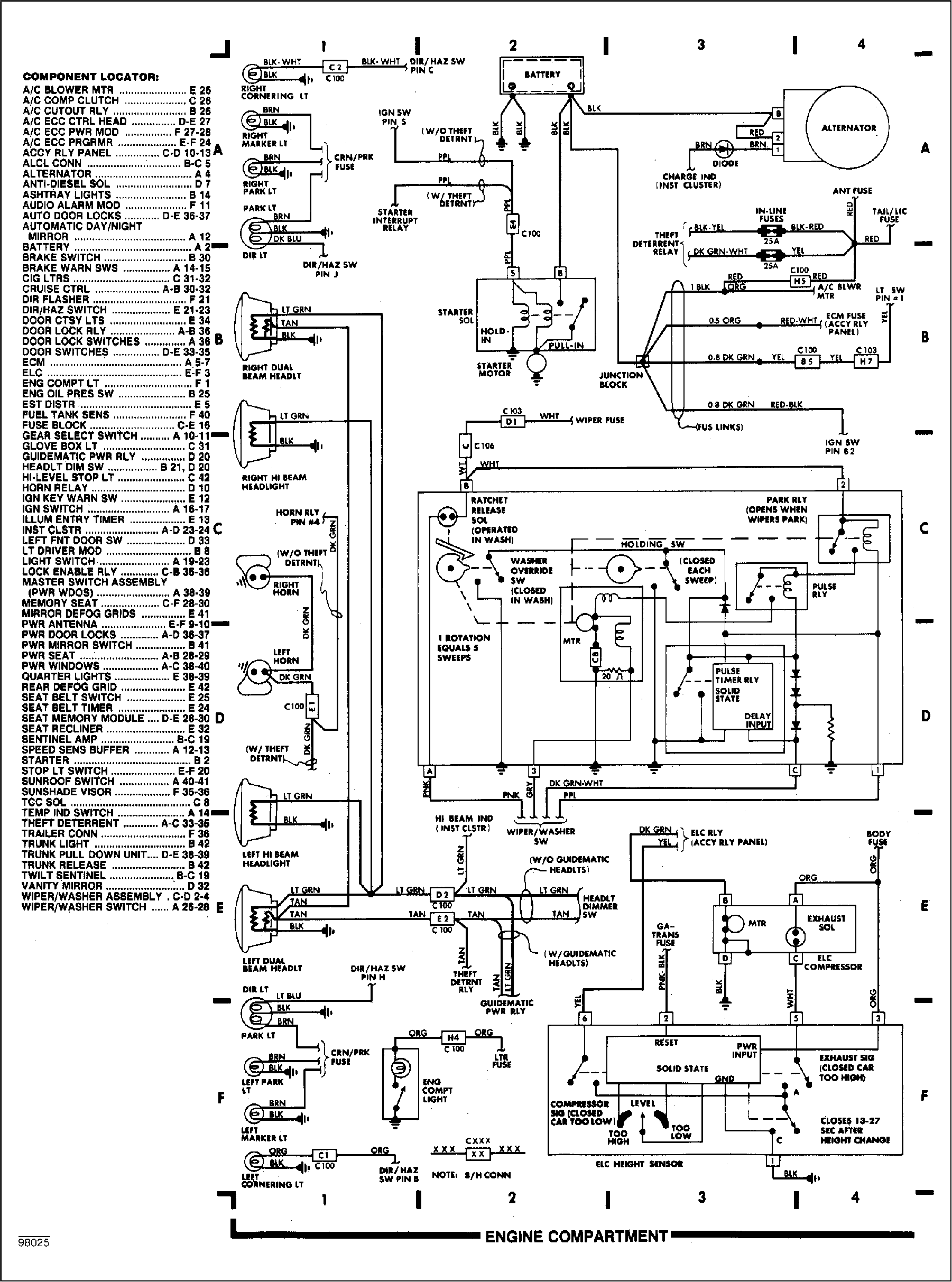 87 anche wiring diagram  diagram  auto wiring diagram