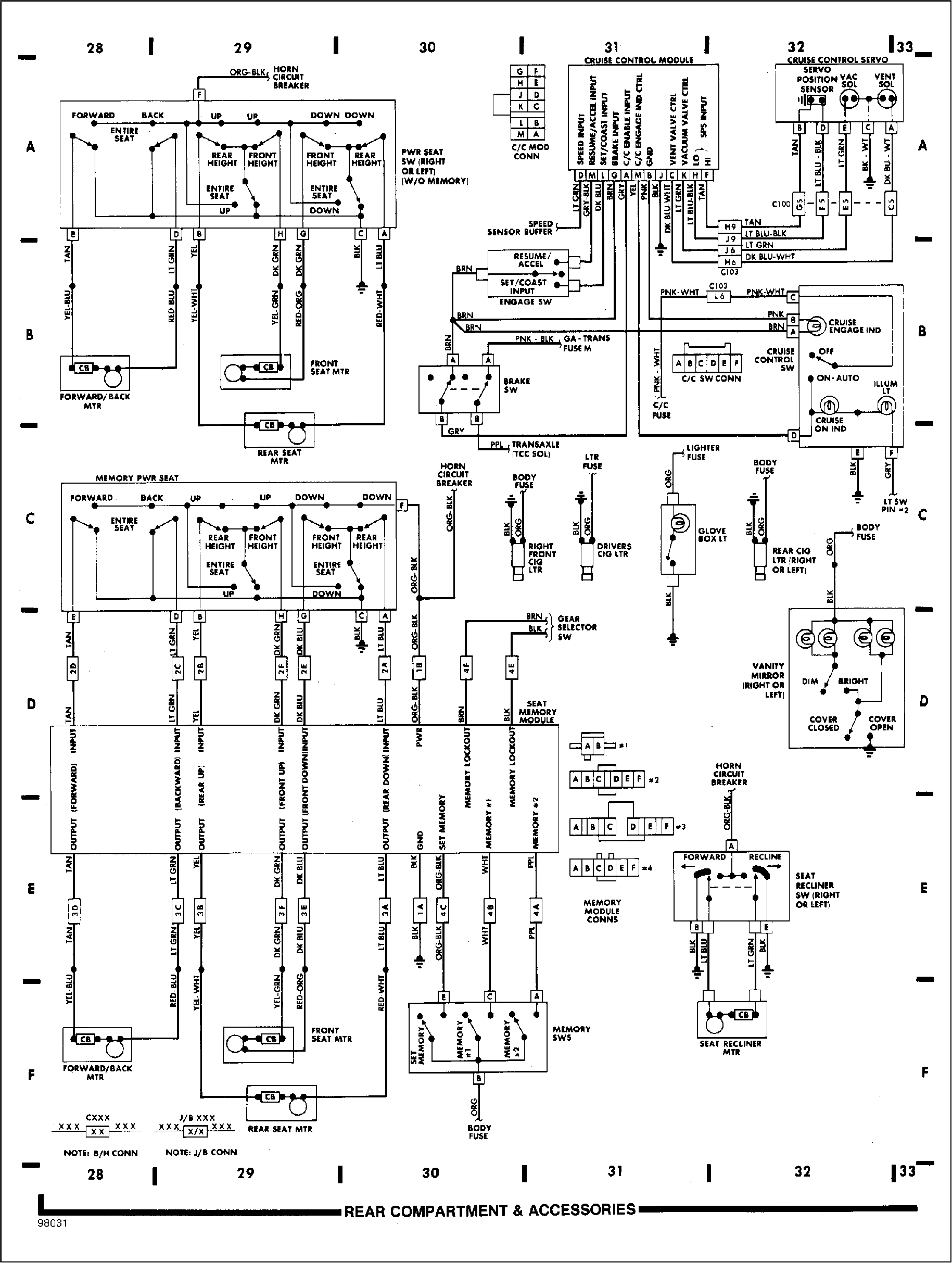 Rear-Compartment-and-Accesories  Cadillac Brougham Fuse Box Diagram on 2004 grand am fuse diagram, cadillac brake line diagram, cadillac belt routing diagram, cadillac wiring diagrams, cadillac distributor diagram, 2003 cadillac cts parts diagram, cadillac starter diagram, cadillac escalade fuse box, 2003 escalade fuse diagram, cadillac wheel diagram, cadillac steering column diagram, cadillac hood latch diagram, cadillac heater core diagram, cadillac ac diagram, 2004 explorer fuse diagram, cadillac deville fuse box location, cadillac trunk pull down diagram, cadillac deville fuse diagram, 2007 escalade fuse diagram, cadillac engine diagram,